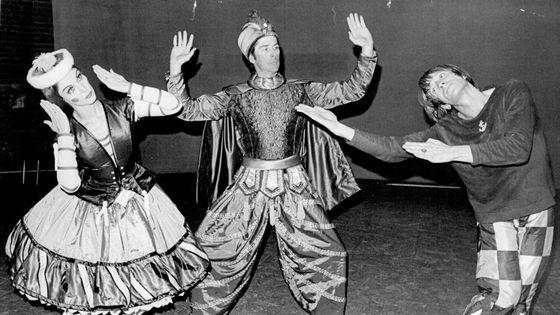 Dress rehearsal for the Australian Ballet's new production of Petrouchka (1970)