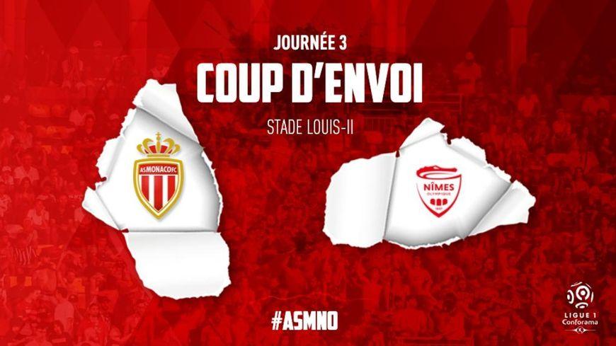 Des chants homophobes gâchent la rencontre Monaco - Nîmes en 3ème journée de Ligue 1 de football ce dimanche.