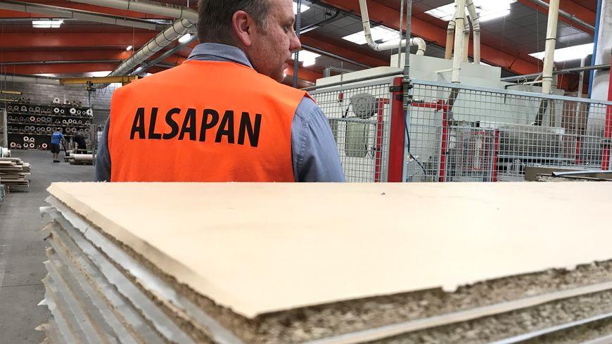 L'entreprise Alsapan fait vivre un tiers des habitants de la Courtine dans la Creuse.