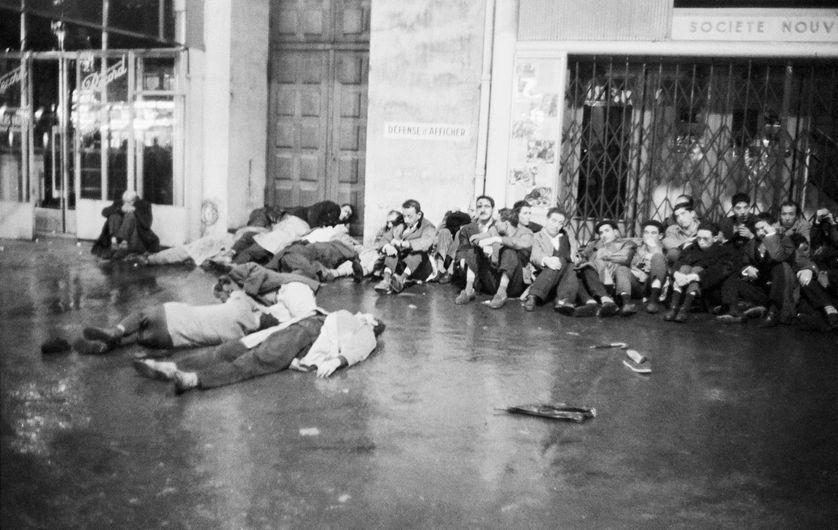 Après la manifestation du 17 octobre 1961