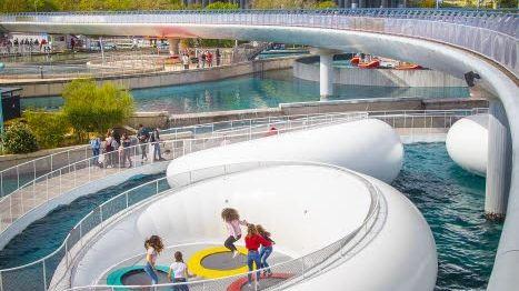 Futuropolis, l'un des espaces proposés au Futuroscope de Poitiers