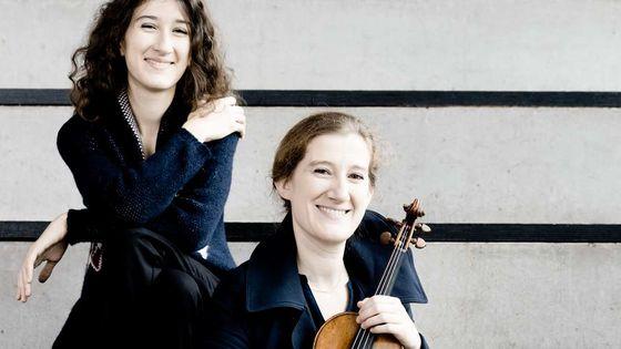Nathalia Milstein et Maria Milstein