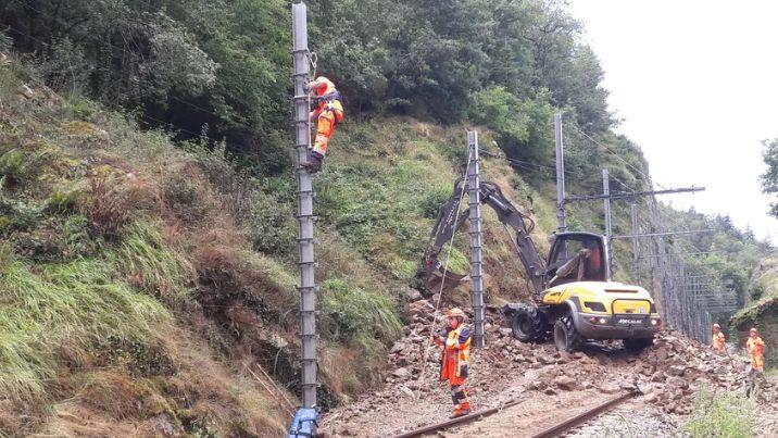 Les agents ont travaillé pendant plusieurs semaines sur le chantier