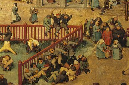 """""""Jeux d'enfants"""" de Pieter Bruegel l'ancien, 1560"""