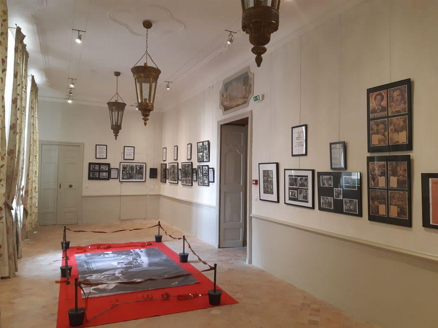Une exposition qui bénéficie également du cadre somptueux de l'Hôtel Pelissier