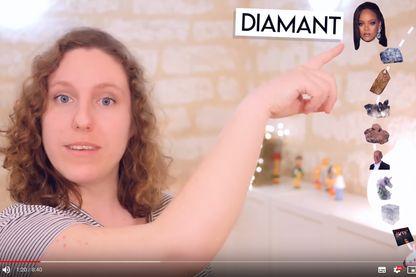Avec une bonne dose d'autodérision et d'humour potache, Valentine Delatttre vous fera aimer la géologie.