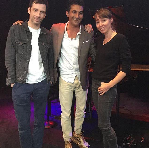 Alex Beaupain, Emmanuel Khérad et Jeanne Cherhal