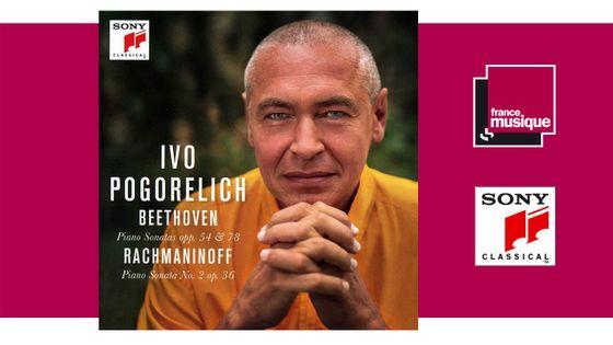 Beethoven: Piano Sonatas Opp. 54 & 78 - Rachmaninoff: Piano Sonata No. 2 Op. 36 - Ivo Pogorelich