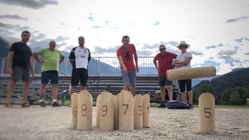 Jusqu'à dimanche soir, Samoëns (Haute-Savoie) accueille la 19e édition des championnats du monde de Mölkky.