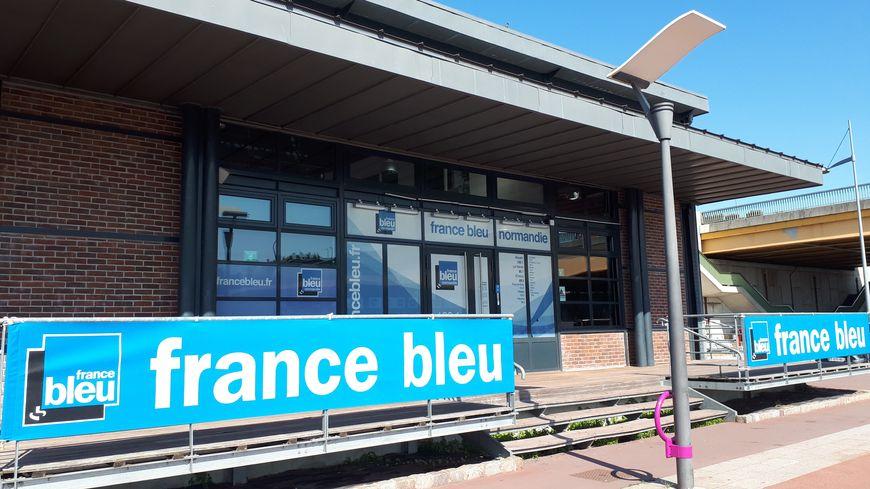 Les locaux de France Bleu Normandie à Rouen sont situés sur les quais.