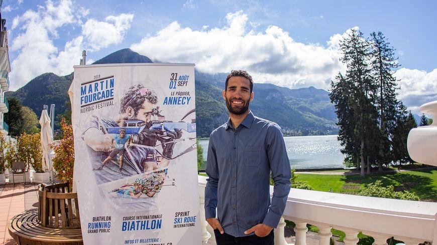 Annecy (Haute-Savoie) accueille ce week-end la première édition du Martin Fourcade Nordic Festival.