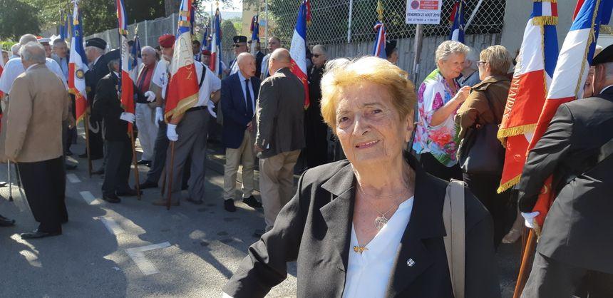 Gisèle Maniez, 92 ans, fille de résistant, raconte la libération de Clermont-Ferrand