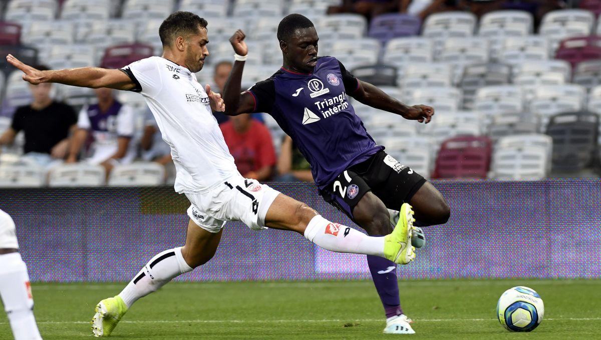 Toulouse s'impose face à Dijon pour sa première à domicile (1-0)