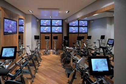 Salle de gym à Londres