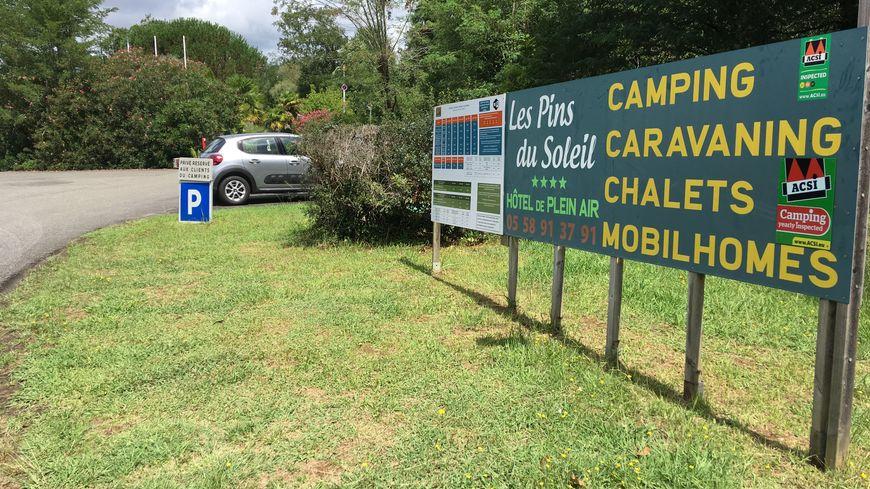 C'est dans ce camping que les corps du couple de curistes ont été retrouvés