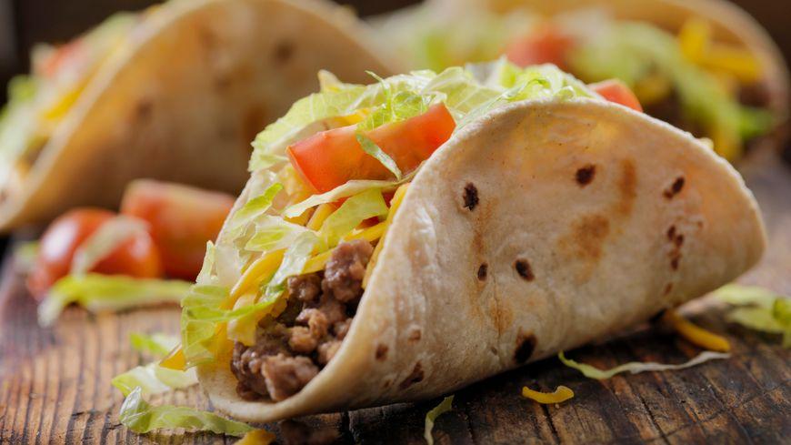 Les tacos mexicains de Pierre Nuss. Die mexikanische Tacos vom Pierre Nuss