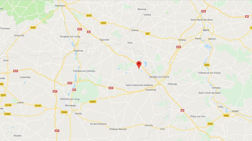 L'accident s'est produit sur l'autoroute A6 au niveau de Foucherolles.