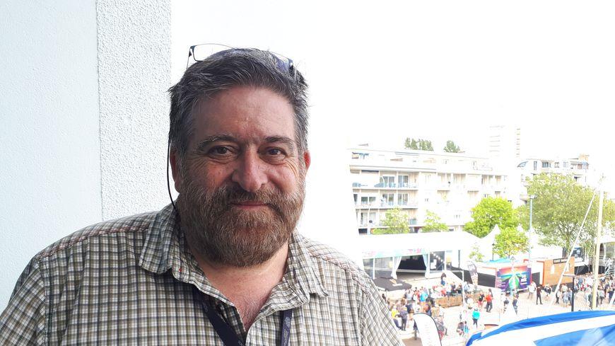 Lisardo Lombardia, le directeur du festival interceltique de Lorient