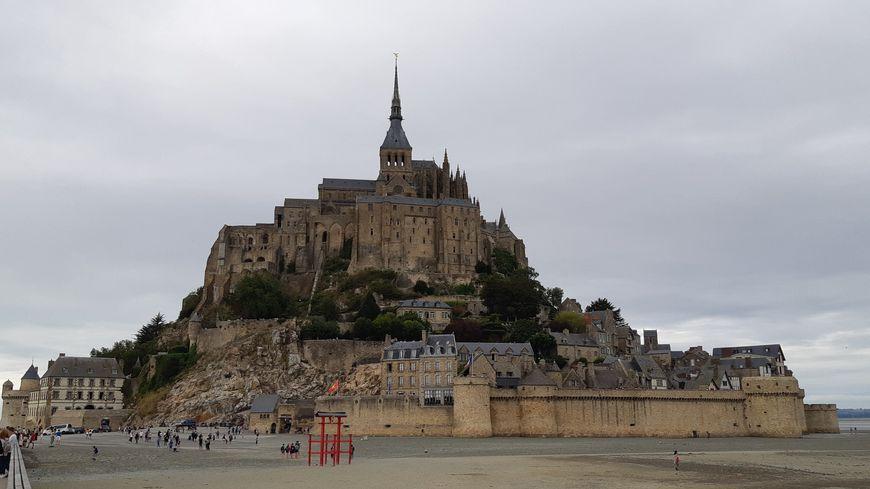 Le Mont Saint Michel, en Normandie. Août 2019.