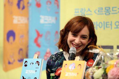 Pénélope Bagieu, dessinatrice de bande dessinée.