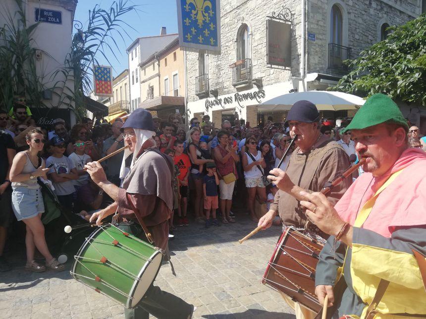 La fête de la Saint-Louis se fait en musique à Aigues-Mortes avec les troubadours