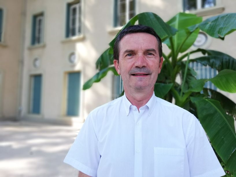 Xavier Angeli, le maire de Tain-l'Hermitage
