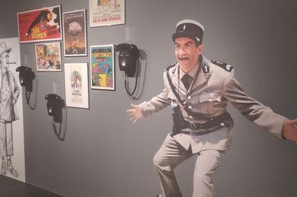 """Le musée Louis de Funès de Saint-Raphaël rappelle que le comédien a souvent tourné dans la commune, pour la série des """"Gendarme de Saint-Tropez"""" ou """"Le Corniaud"""""""