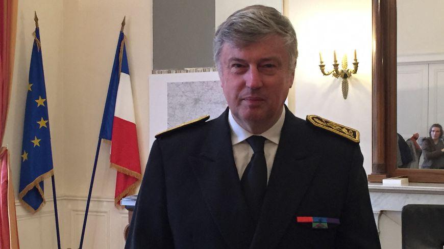 Claude d'Harcourt, le préfet de Loire-Atlantique et de la région Pays de la Loire, lors de sa prise de fonction le 28 novembre 2018.