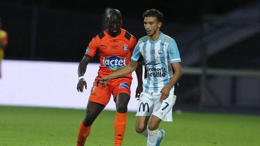 A Lyon, le Lavallois Lhadji Badiane a inscrit son premier but de la saison.