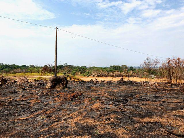 Dans la région du Rodondia, au Brésil, la terre porte les stigmates des flammes