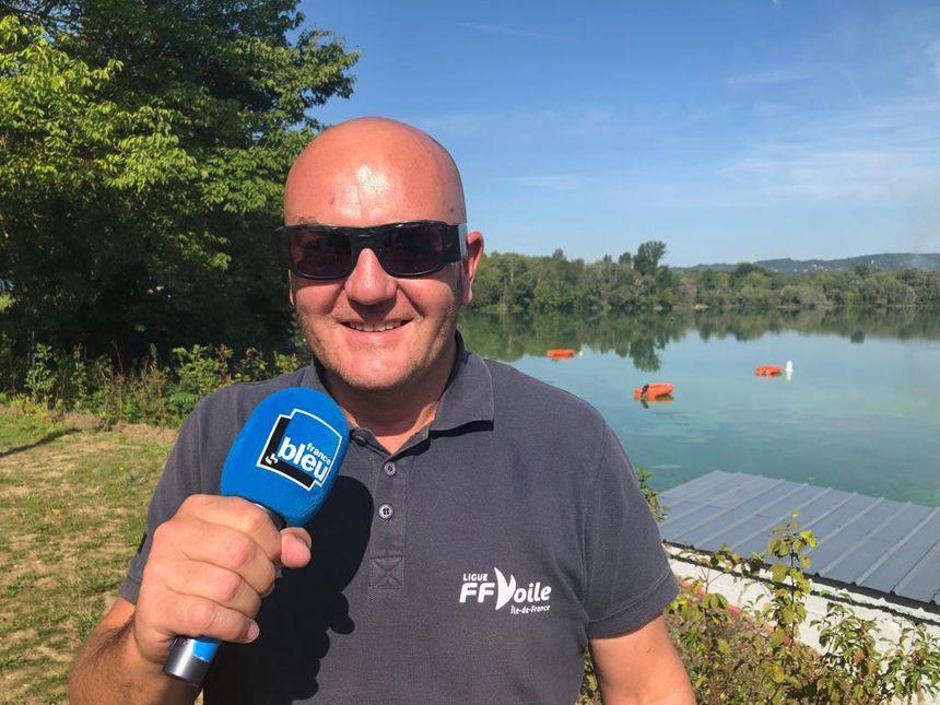 Pierre - Directeur du Centre Nautique de l'île de loisir du val de Seine