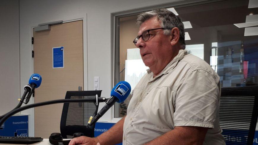 François Sarrazin, administrateur du Collectif Cycliste 37
