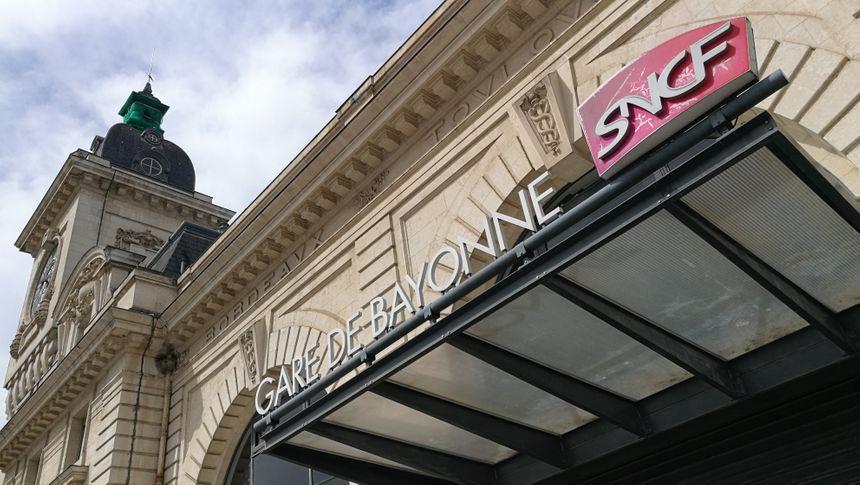 La gare de Bayonne sera fermée pendant le G7 - Radio France