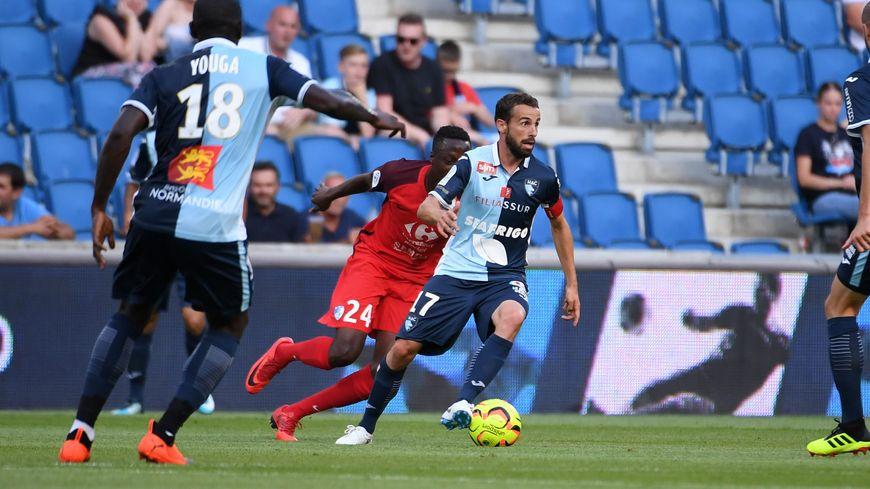 Alexandre Bonnet, ici face à Grenoble la saison dernière, monte en puissance.
