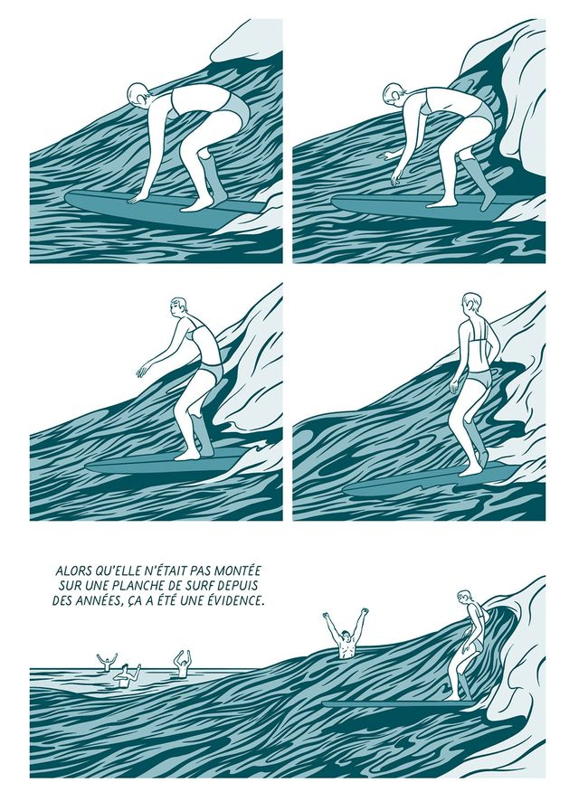 Planche d'In Waves d'AJ Dungo