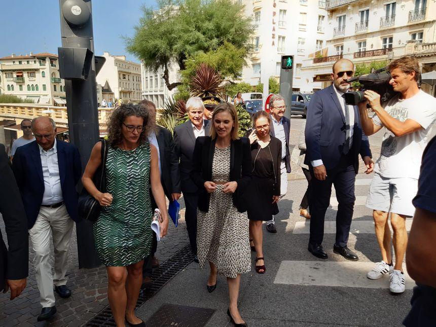 Après-midi de visite et de travail pour Agnès Pannier-Runacher