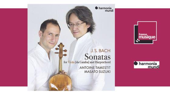 J.S. Bach: Sonatas for Viola and Harpsichord - Antoine Tamestit, Masato Suzuki