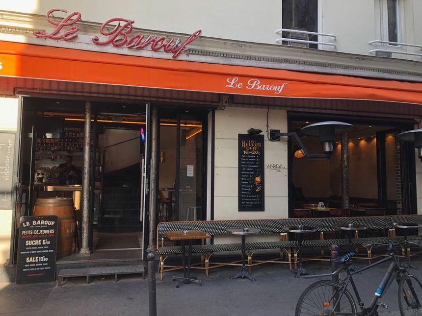 Le Barouf, rue de Belleville
