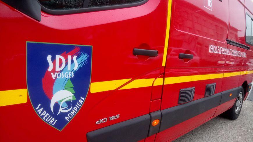 L'accident a impliqué une moto seule, route de Bruyères à Granges-Aumontzey