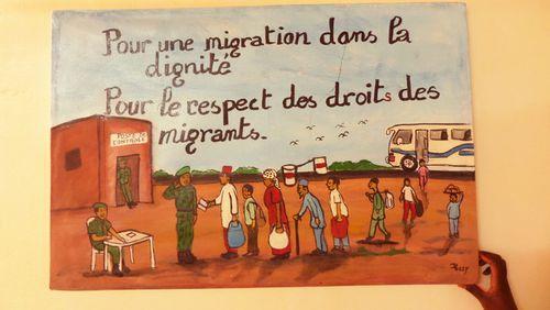 Réfugiés : du Niger à la Dordogne