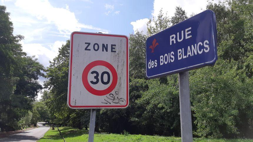 Le quartier périphérique des Bois Blancs passera également à 30 km/h