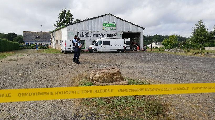 L'agression mortelle a eu lieu dans cette entreprise de motoculture à Saint-Georges-de-Reintembault (35)