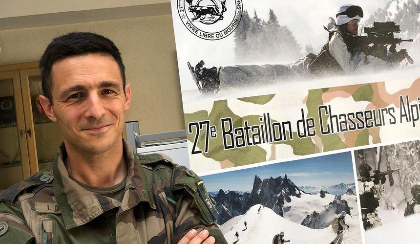 Le colonel Ivan Morel, nouveau patron du 27e BCA d'Annecy.