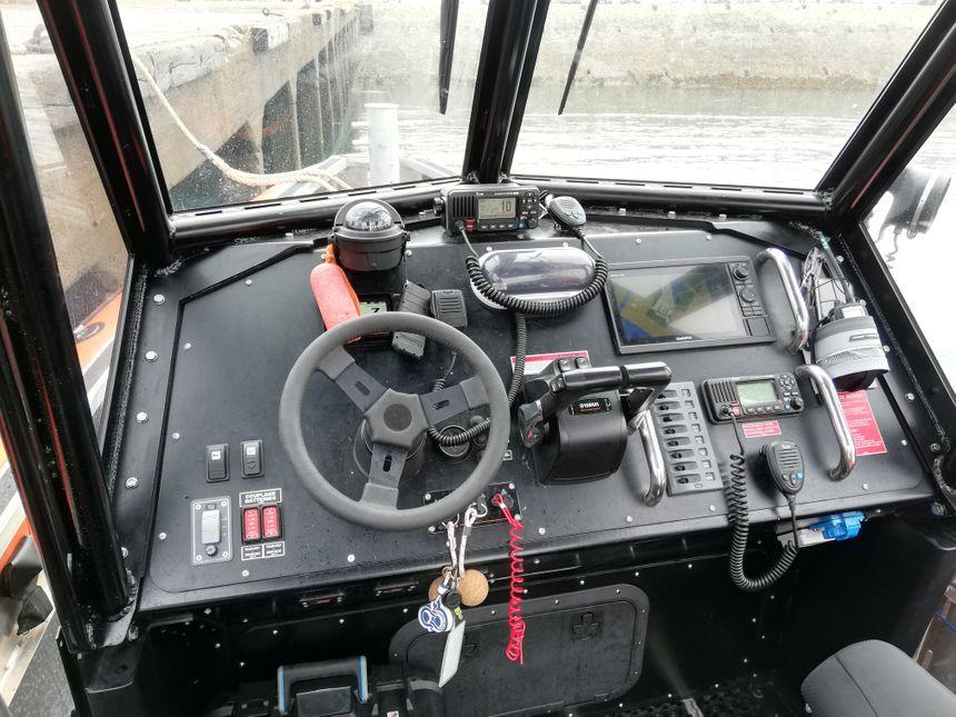 L'embarcation permet un meilleur confort pour les sauveteurs en mer