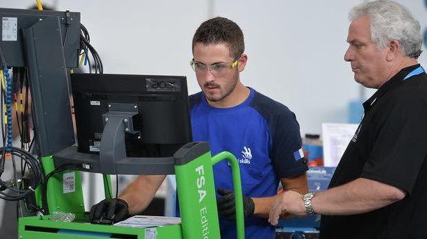 Kevin Muller a participé à la finale des Olympiades des métiers, Worldskills, en Russie