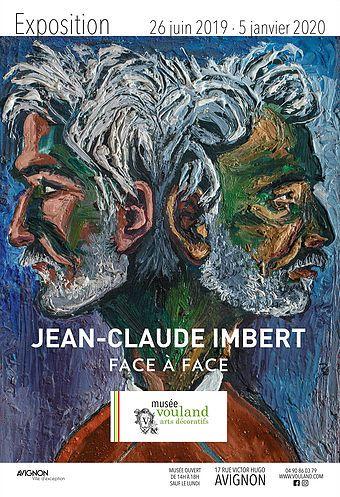 Exposition Jean-Claude Imbert dans les salles du musée.