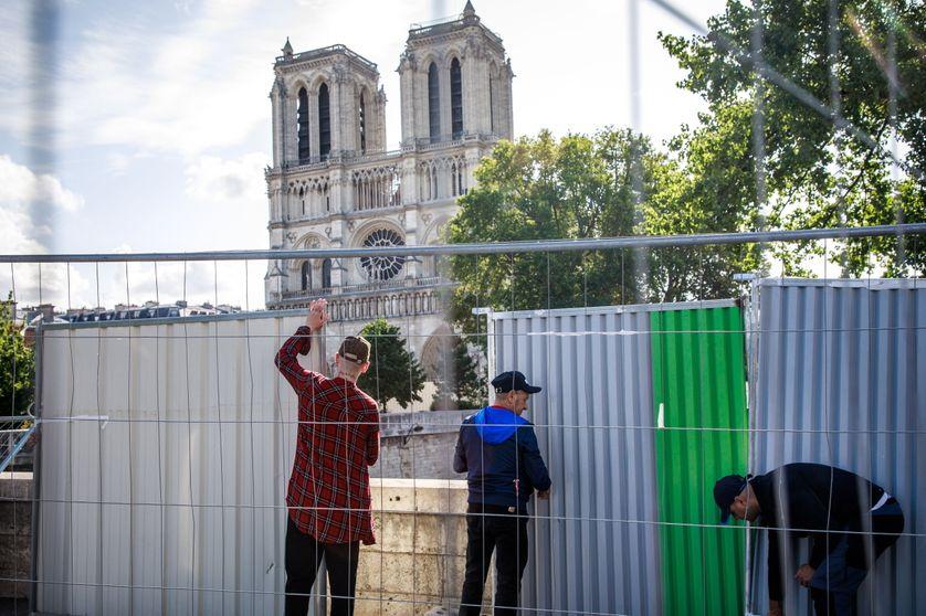 Notre-Dame toujours menacée d'effondrement, la santé des ouvriers et riverains plus que jamais en question