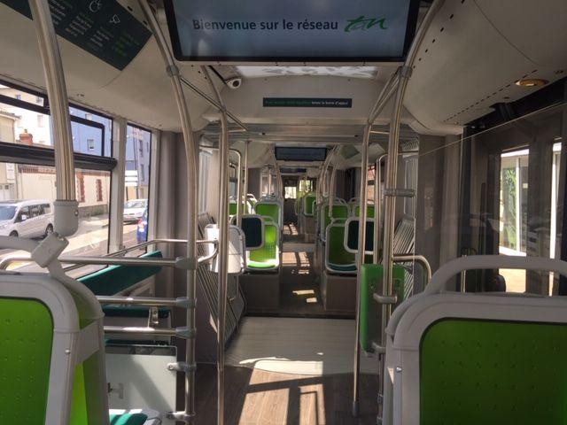 L'intérieur du e-busway