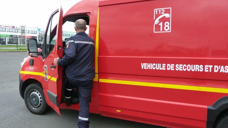16 pompiers sont intervenus sur l'accident ce vendredi.