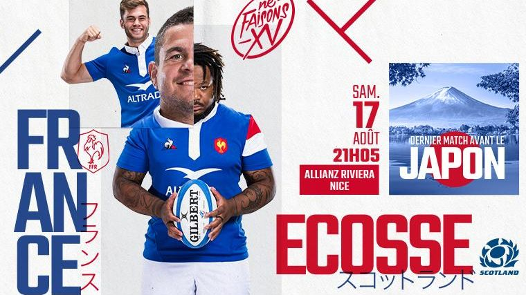 Match France vs Ecosse à l'Allianz Riviera à Nice